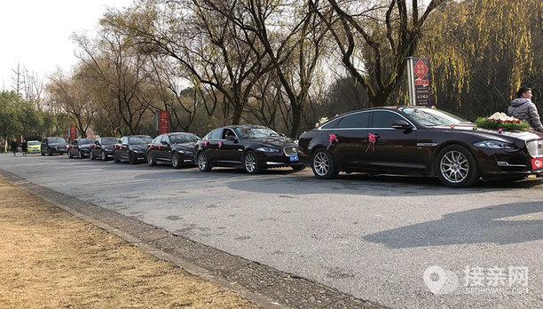 套餐捷豹XF+5辆捷豹XF婚车