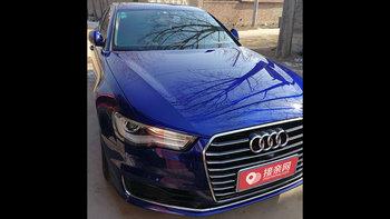 奥迪A6L婚车 (蓝色,可做头车)