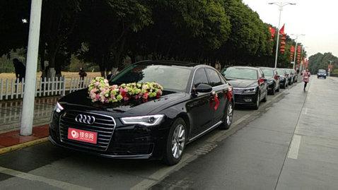 婚车套餐奥迪A6L+大众帕萨特
