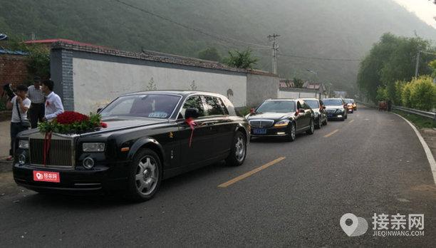 套餐劳斯莱斯幻影+12辆奔驰S级婚车