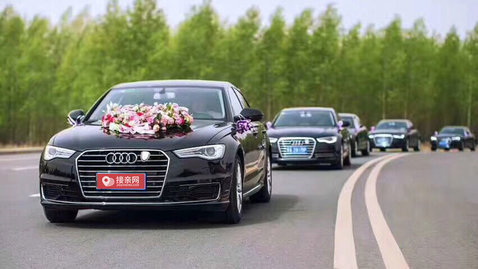 婚车套餐奔驰S级+奥迪A6L