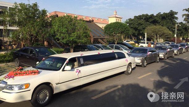 套餐林肯城市+8辆宝马7系婚车
