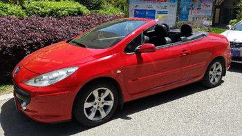 标致307CC婚车 (红色,可做头车)
