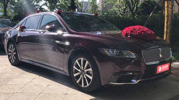 林肯大陆婚车 (红色,可做头车)