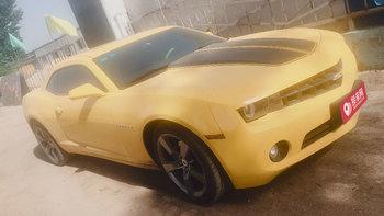 雪佛兰科迈罗婚车 (黄色,可做头车)