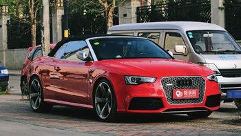 奥迪RS5婚车 (红色,可做头车)