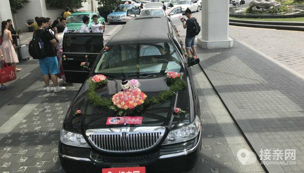 套餐林肯城市+10辆宝马3系婚车