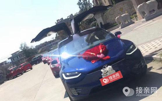 套餐特斯拉MODEL X+13辆宝马3系婚车