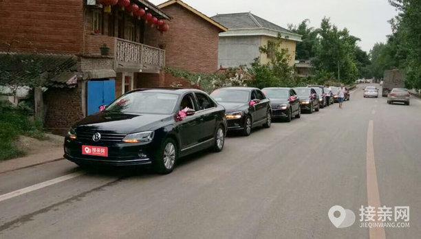套餐奔驰E级+9辆大众朗逸婚车