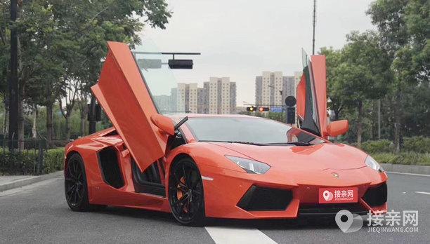 套餐兰博基尼Aventador+10辆兰博基尼Aventador婚车