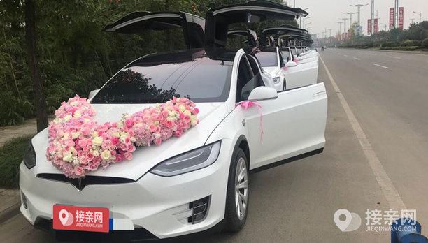 套餐特斯拉MODEL X+12辆特斯拉MODEL X婚车