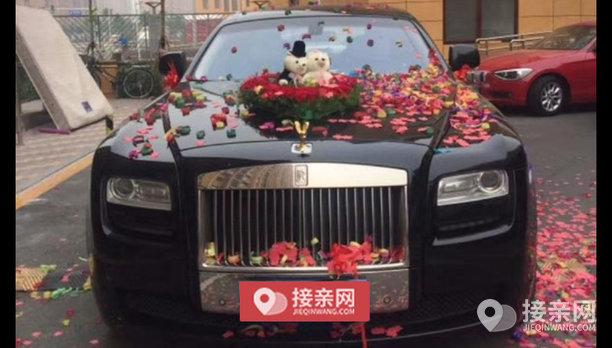 套餐劳斯莱斯古思特+30辆Jeep牧马人婚车