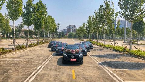 婚车套餐奔驰GLE级AMG+奔驰GLC级