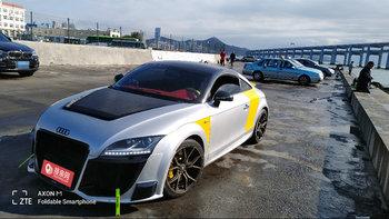 奥迪TT RS婚车 (银色,可做头车)