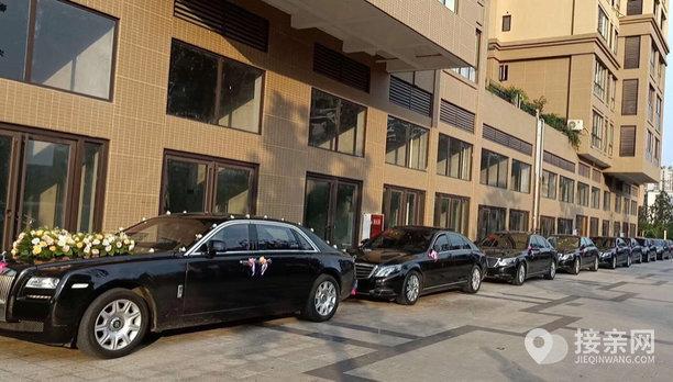 套餐劳斯莱斯古思特+22辆奔驰S级婚车