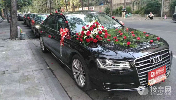 套餐奥迪A8+5辆奥迪A6L婚车