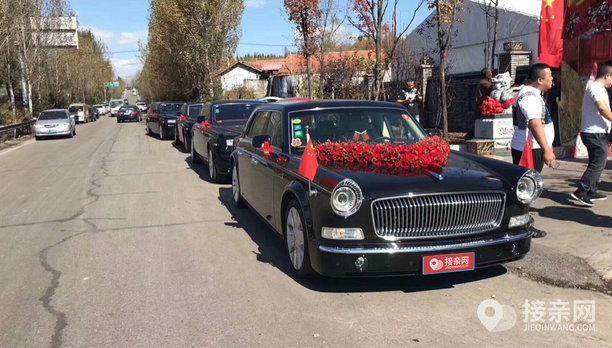 套餐红旗L5+7辆劳斯莱斯幻影婚车