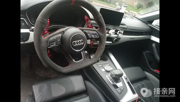 奥迪A5婚车