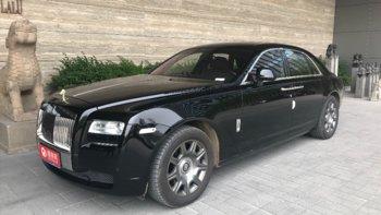 劳斯莱斯古思特婚车 (黑色,可做头车)