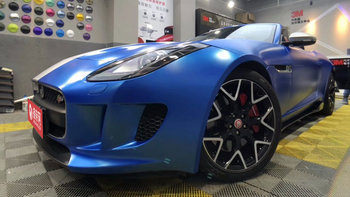 捷豹F-Type婚车 (蓝色,可做头车)