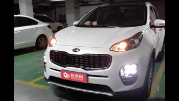 起亚KX5婚车 (白色,可做头车)