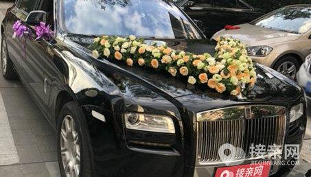 劳斯莱斯古思特婚车