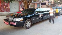 中山林肯城市婚车租赁