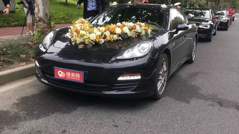 婚车套餐保时捷Panamera+奥迪A6L