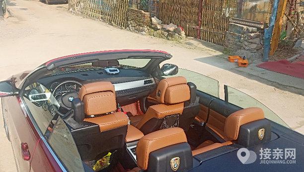 宝马3系敞篷婚车