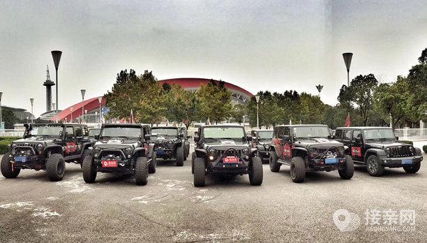 套餐Jeep牧马人+8辆Jeep牧马人婚车