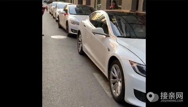 套餐保时捷Panamera+5辆特斯拉MODEL S婚车