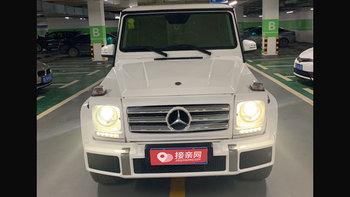 奔驰G级AMG婚车 (白色,可做头车)