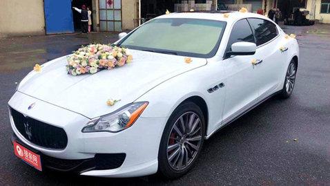 婚车套餐玛莎拉蒂总裁+奔驰E级