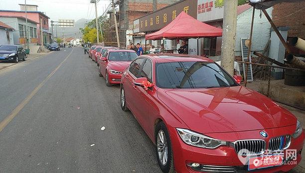 套餐林肯城市+6辆宝马3系婚车