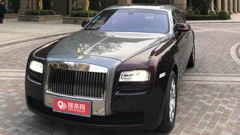 宁波劳斯莱斯古思特跑婚车 5500元起步价