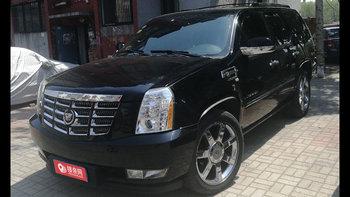 凯迪拉克凯雷德婚车 (黑色,可做头车)