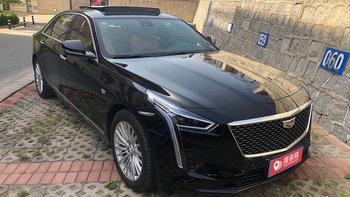 凯迪拉克CT6婚车 (黑色,可做头车)