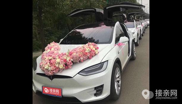 套餐特斯拉MODEL X+8辆特斯拉MODEL X婚车