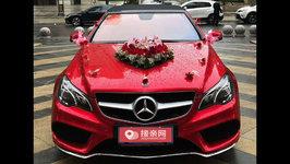 雅安奔驰E级AMG婚车租赁