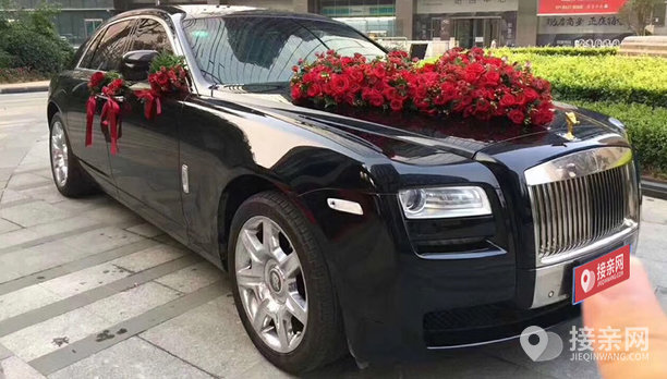 套餐劳斯莱斯古思特+20辆奔驰S级婚车