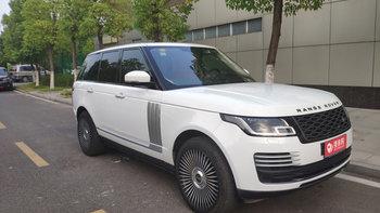 路虎揽胜婚车 (白色,可做头车)