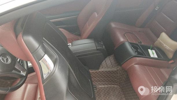 奔驰E级双门轿跑婚车