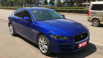 捷豹XE婚车 (蓝色)