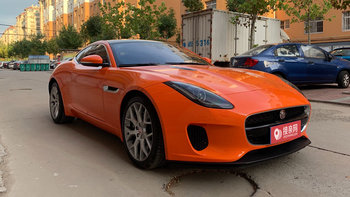 捷豹F-Type婚车 (橙色,可做头车)