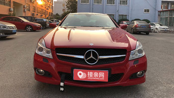 奔驰SL级婚车 (红色,可做头车)