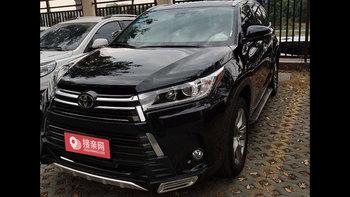 丰田汉兰达婚车 (黑色,可做头车)