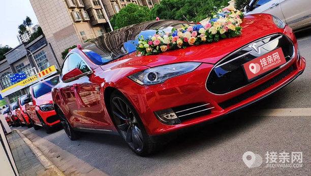 套餐特斯拉MODEL X+16辆特斯拉MODEL S婚车