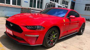 福特野马婚车 (红色,可做头车)