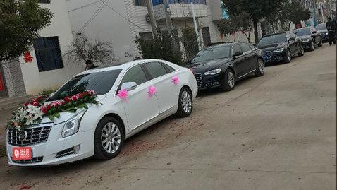 婚车套餐凯迪拉克XTS+奥迪A6L