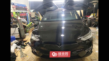 特斯拉MODEL X婚车 (黑色,可做头车)